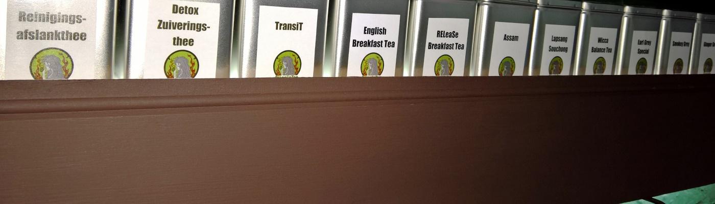 Biologische thee en tisanes van hoge kwaliteit