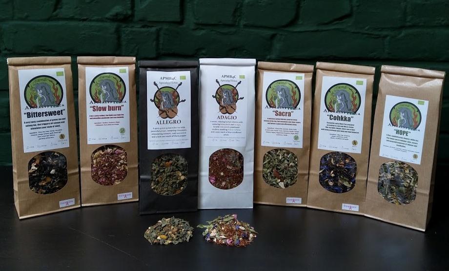 Apocalypteaca – RELeaSe Tea   Biologische Thee en tisanes