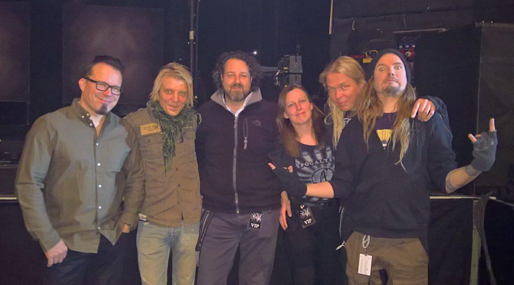 Els en Gerrit met Apocalyptica - Koninklijk Circus Brussel 24 feb 2017 - foto Gerrit Heirbaut
